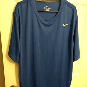 Nike Dri- fit Blue XXL Shirt